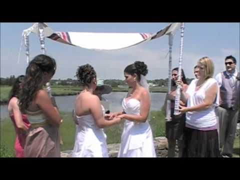 Emily & Kerri's Lesbian Jewish Wedding