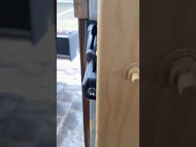 Lock latch deluxe gate lock installation Melbourne