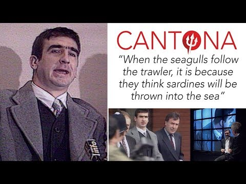 Add a wonderful accent to your room and office with these posters that are sure to brighten. Eric Cantona When The Seagulls Follow The Trawler Youtube