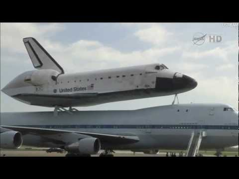 Space Shuttle Endeavour lands at Ellington field   19 9 2012   Complete NASA HD TV Coverage