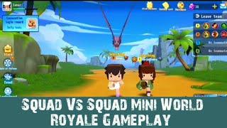 Squad Vs Squad Mini World Royale Gameplay screenshot 3