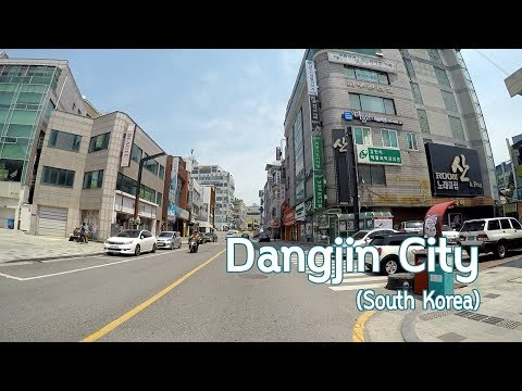 Driving downtown in Dangjin, South Korea : A small city in the west [충남 당진 시내 드라이브]