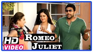 Romeo Juliet Tamil Movie | Scenes | Jayam Ravi meets Poonam Bajwa | Hansika