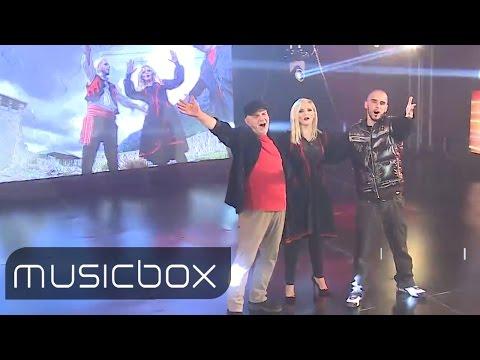 Gold AG ft Ganimete Abazi & Ilirët - Fjalët e qiririt 2015 (Musicbox)