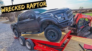 I Bought a Wrecked 2019 Ford Raptor