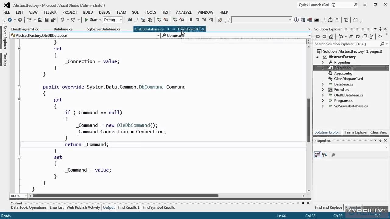 C Design Patterns Tutorial Abstract Factory Example Youtube