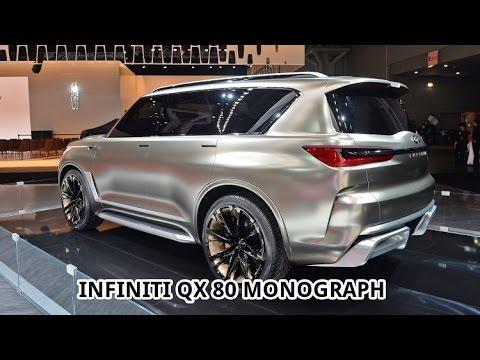 Wowww New 2018 Infiniti Qx80 Monograph New York Auto Show 2017