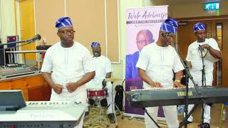 Nigerian Party in Rochester - Wale Adebanjo & The Salters Live