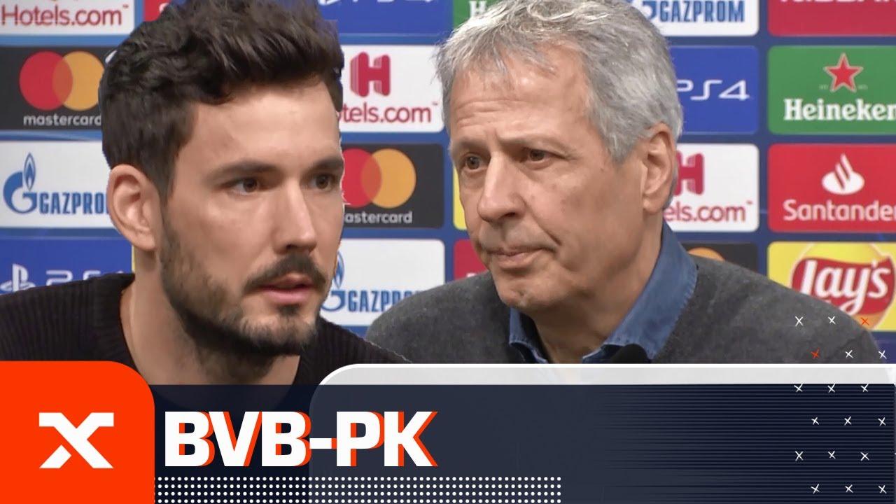 Axel Witsel war auf der Intensivstation | Lucien Favre und Roman Bürki | Borussia Dortmund | SPOX