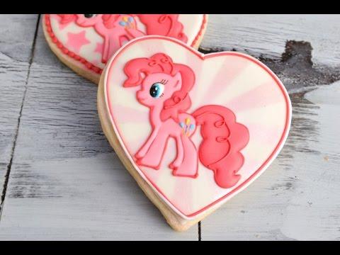 Pinkie Pie My Little Pony Cookies Haniela S Youtube