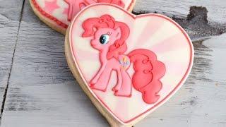 Pinkie Pie My Little Pony Cookies, Haniela's