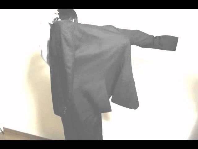 腕まくりやスーツを着る瞬間のポーズや皺をトレス可能な男子ポーズ資料