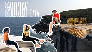 ✈AUSTRALIA TRAVEL VLOG | 悉尼皇家国家公园ROYAL NATIONAL PARK | WEDDING CAKE ROCK | HABOUR BRIDGE 海港大桥看日出 |