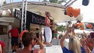 Ocean Beach Club Ibiza at The Lovely Laura 2014