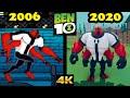 - Evolution of Ben 10 games 2006-2020