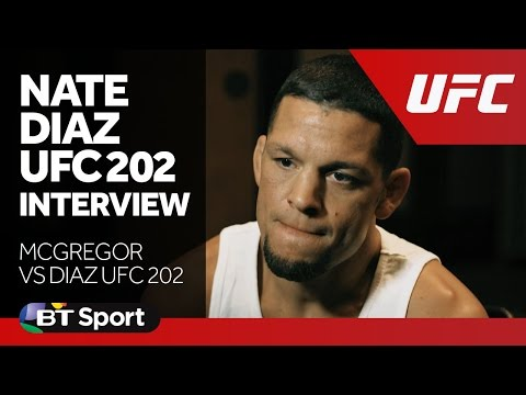 Nate Diaz UFC 202 Exclusive Interview | McGregor vs Diaz