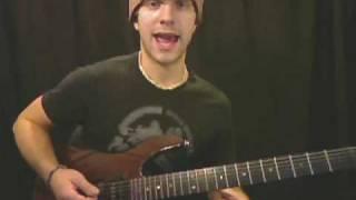 Guitar Lesson - Building Solos - Dmin Fmaj Rock
