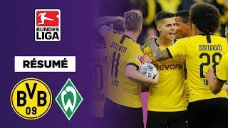 Résumé : Une pluie de buts mais pas de vainqueur entre Dortmund et Brême
