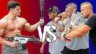 You REACT You LOSE - Pain Gauntlet VS TheBellLife | Bodybuilder VS Bodybuilders Pain Challenge