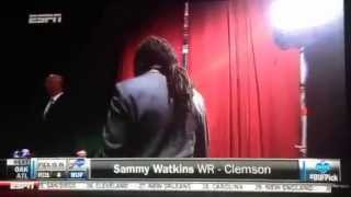 Sammy watkins drafted by buffalo bills espn