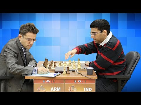 Anand vs Aronian - 2014 FIDE World Candidates Chess Tournament