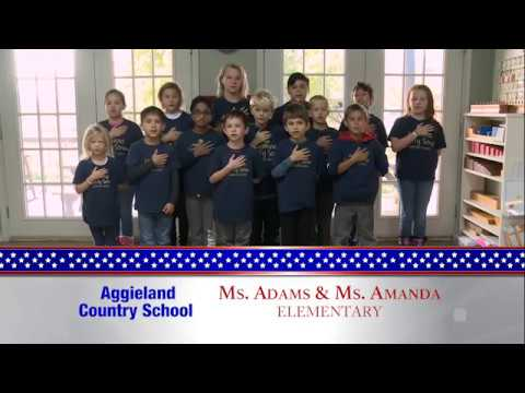 Daily Pledge-Aggieland Country School