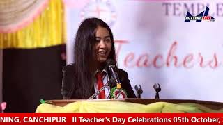 Teachers' Day Celebration 2019      Live From Temple of Learning, Canchipur