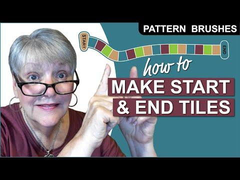 How to Make Start and End Pattern Brush Tiles in Adobe Illustrator