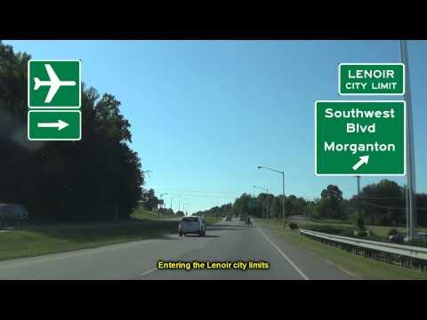 US 321 in Lenoir, NC
