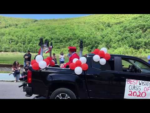 Bucktail High School Parade of Seniors 2020