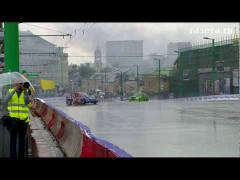 Заезды болидов «Формулы-1» в Москве
