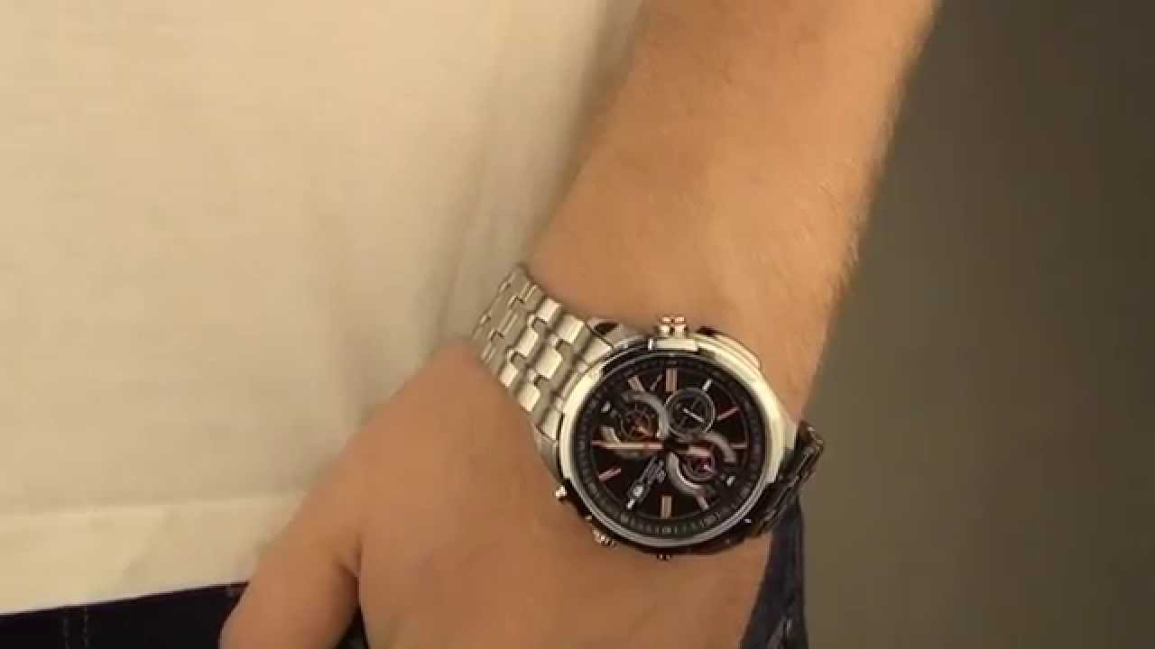 how to make a chronograph watch work