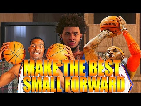 NBA 2K16 Tips/Tricks - Best SMALL FORWARD Build | How To Create The Best SMALL FORWARD IN THE WORLD