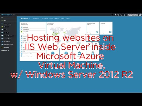 Hosting websites on IIS Web Server inside Microsoft Azure Virtual Machines