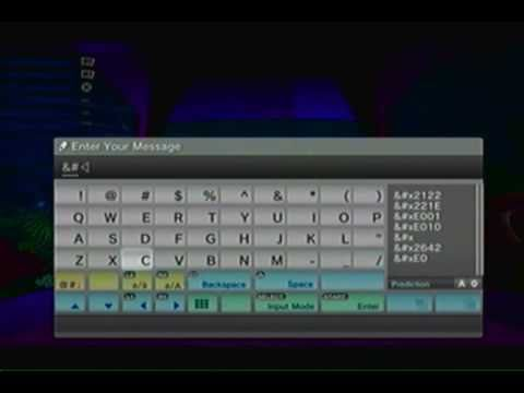 How to use hidden text (unicode) in LBP2! (such as buttons, symbols, etc.!)