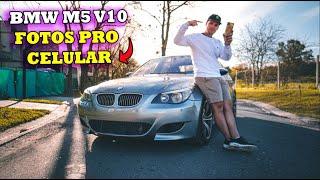 BMW M5 E60 - COMO TOMAR BUENAS FOTOS CON TU CELULAR l Lucas Ramírez