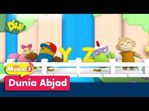 Didi & Friends Lagu Kanak-Kanak | Lagu Baru Musim 3 | Dunia Abjad