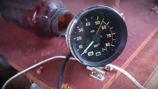 тахометр от ВАЗ, на ИЖ Юпитер 4. Tachometer from VAZ, to IZH Jupiter 4. Variants and tests