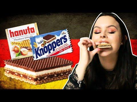 Irish People Try German Snacks