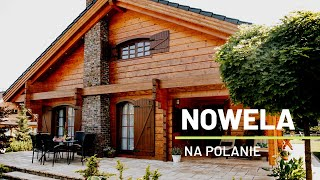 Dom drewniany całoroczny wnętrze   Aranżacja wnętrza   Dom z bali   Tour of this beautiful log house