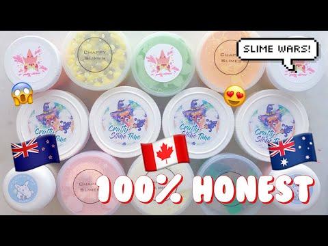 SLIME WAR! CANADA, AUSTRALIA, & NEW ZEALAND SLIME REVIEW