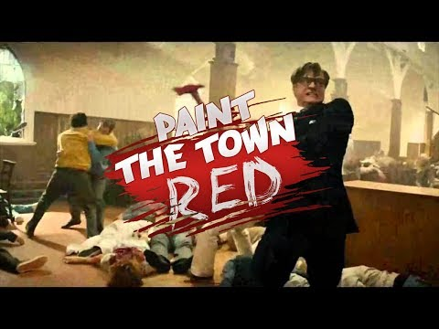 Paint The Town Red   WORLD BANK MASSACRE, KINGSMAN CHURCH MASSARCRE, AND HORROR PRISON!