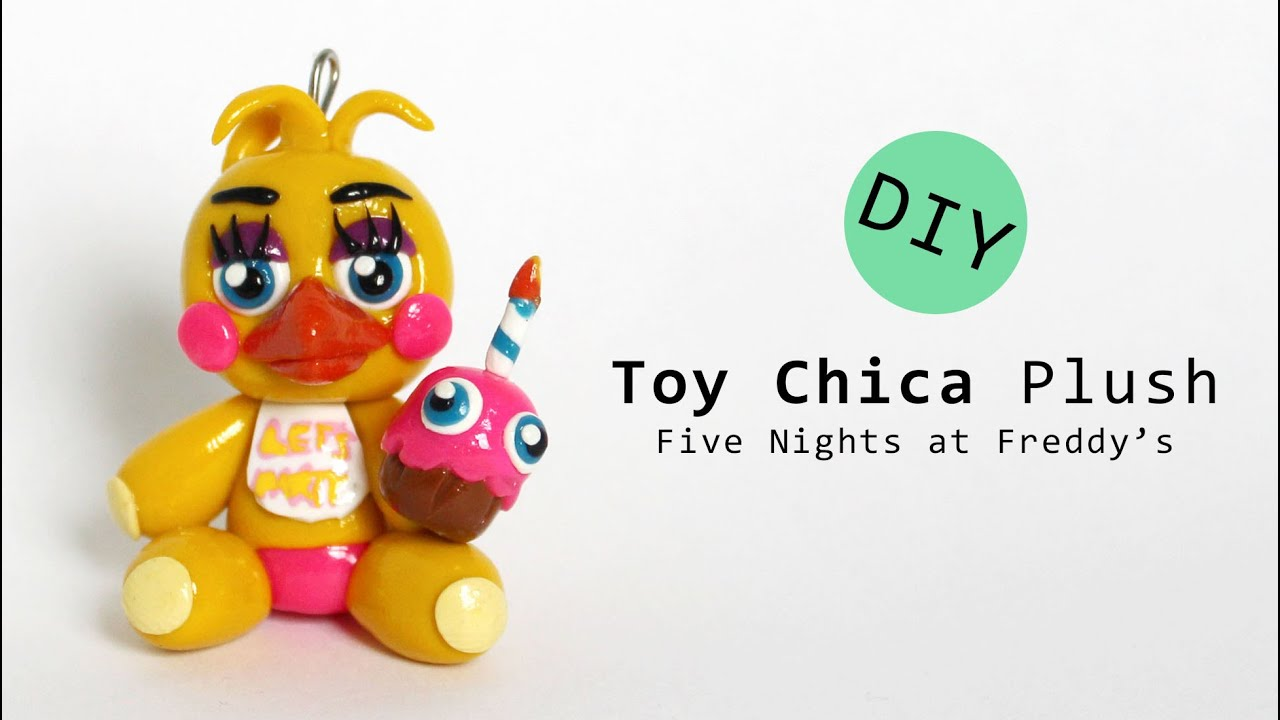 Five Nights At Freddy S 2 Toy Chica Plush Polymer Clay