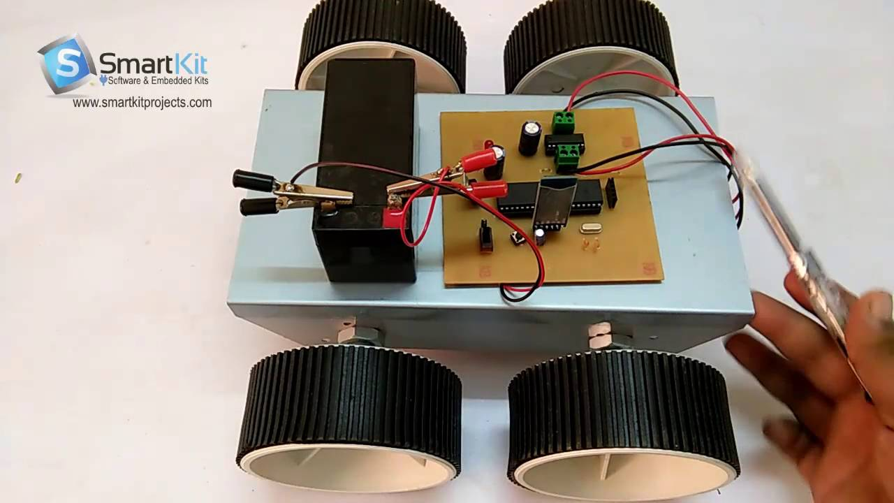 Circuit Design Of Android Controlled Robot Car Voice Control Robotic Vehicle Using 8051 Based Microcontroller Youtube