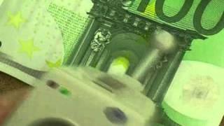 Проверка подлинности купюр - ЕВРО