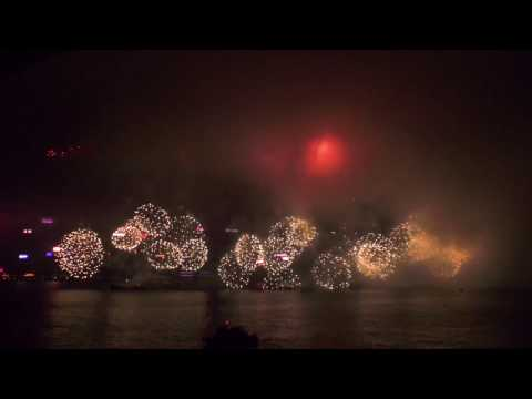 InterContinental Hong Kong, 2017 Chinese New Year Fireworks Show on Victoria Harbour
