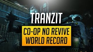 💥 TRANZIT CO-OP NO REVIVE WORLD RECORD ATTEMPT 💥 (Black Ops 2 Zombies)
