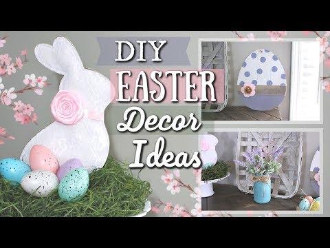 Dollar Tree Easter DIY Ideas | DIY Easter Dollar Store | DIY Easter Decor 2019 | Krafts by Katelyn