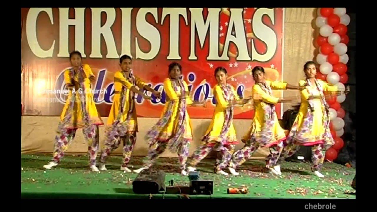 New Telugu latest christian christmas Dance Songs 2015 ||Rarandi ...