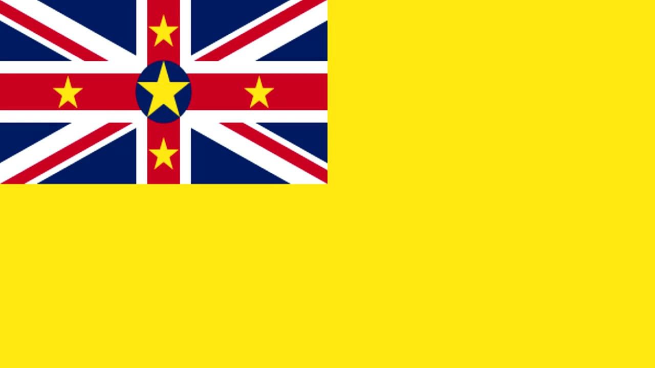 Bandera e Himno de Niue (Nueva Zelanda) - Flag and Anthem ...